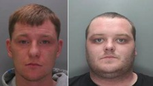 Drug couriers jailed for eight years