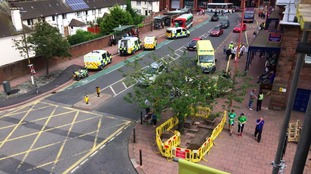 The incident happened near the Market Hall.