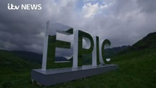 It's 'Epic'! The piece of art enticing tourists to Wales