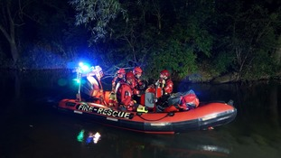 The police started their search for the missing woman last night
