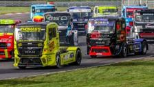 Racing trucks can hit 100mph quicker than some sports cars