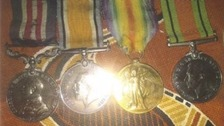 Treasured war medals stolen from 90-year-old widow