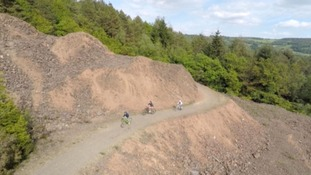 Cycling around the old mines of Devon