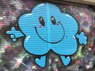 Mr Men characters can be spotted all over South Bristol