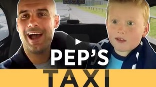 Adorable footage shows Man City fan meet Pep Guardiola
