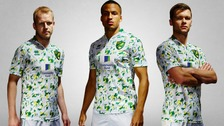 Norwich City's new third kit has split opinion.