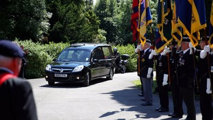His funeral took place with military pomp