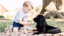 New pictures of Prince George released on his third birthday