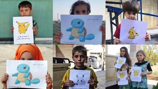 'Come and save me,' children in Syria use Pokémon characters to plead for help