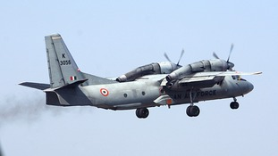 Indian air force plane carrying 29 military personnel is  missing over Bay of Bengal