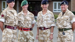 Army prepares to welcome its first female front-line soldiers this year