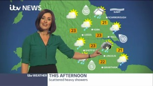 Afternoon weather update with Amanda Houston