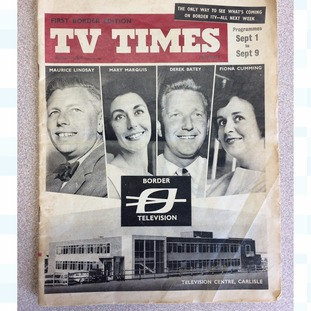Border Television TV Guide from 1961