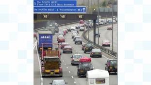Major road closures in Birmingham
