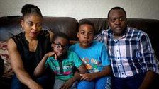 The Tshibangu family claim they were told to 'go back to Africa'