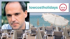 Exclusive: 'I've had threats,' Low Cost Holidays boss tells ITV News