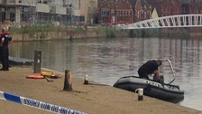 Earlier today police found the body of a woman in the River Ouse.