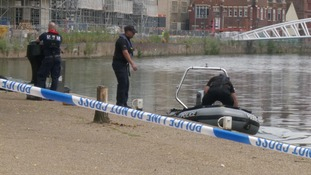 Woman drowns after diving into Bedford river to save young boy