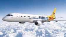 Aurigny's first flight from Guernsey to Spain ready for take off