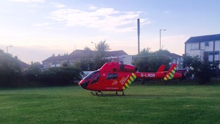 4-year-old child in a critical condition after hit and run in north London