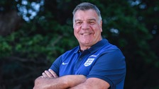 Sam Allardyce: I can't stop smiling because I've got this job