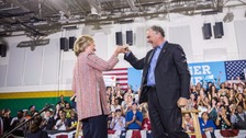 Clinton selects Tim Kaine as presidential running mate