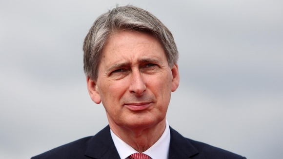 Defence Secretary Philip Hammond.