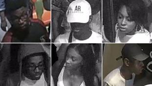 Images of people wanted in connection with McDonalds 'disorder' released by police