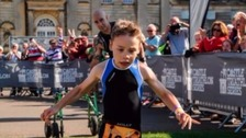 Triathlon hero Bailey Matthews throws down challenge
