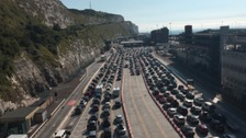Drivers in Dover stranded as Port delays cause tailbacks