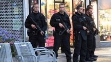 "Welsh couple describe ""mass panic"" in Munich after shopping centre shooting"