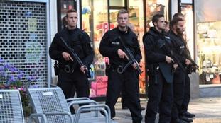 Welsh couple describe 'mass panic' in Munich after shooting