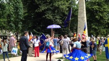 'Picnic for Europe': hundreds turn out in Bath for pro EU rally