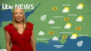 Philippa has Sunday's weather for the west