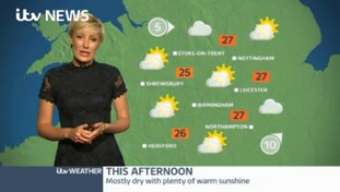 Midlands Weather: Dry for most with some very warm sunshine