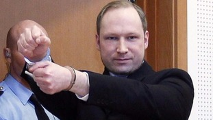 Breivik is serving 21 years in jail for the 2011