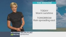 Wales Weather: Turning cloudy through the day