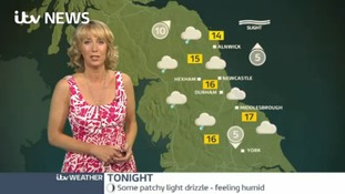 VIDEO: Saturday's forecast for the North East region
