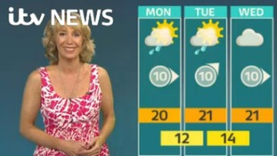 Here's Emma with your latest Granada weather update