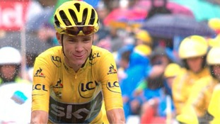 Team Sky's Chris Froome set to win third Tour de France with overall lead of four minutes 11 seconds after stage 20