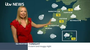 Warm and muggy night in the South West
