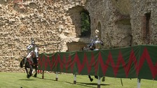 Calls for jousting to be made Olympic sport