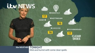 East Midlands Weather: Becoming dry with clear spells