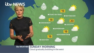Midlands Weather: Cloud gradually building in the west