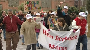 West Berks protest