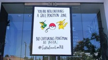 Pokémon Go slammed by PETA for animal cruelty parallels