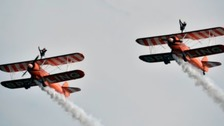 Flying at the 2014 Airshow