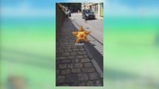 """Businesses join """"Pokemon Go"""" craze to boost visitor numbers"""