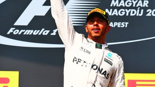 Hamilton has a six-point advantage over Mercedes team mate Nico Rosberg,