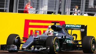Lewis Hamilton heads the driver standings for the first time this year